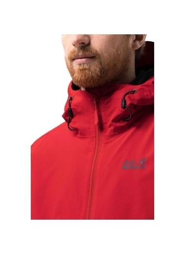 Jack Wolfskin Norrland 3İn1 Erkek Ceket - 1110701-2015 Kırmızı